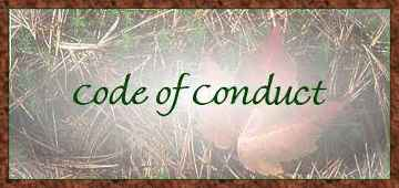 Code of Conduct - lotrfanmb